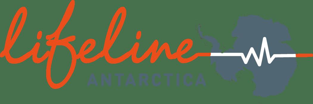 lifeline Antartica logotype color